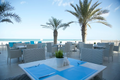 Bait AL Bahar beach house terrace
