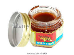wild tiger balm red .ouvert